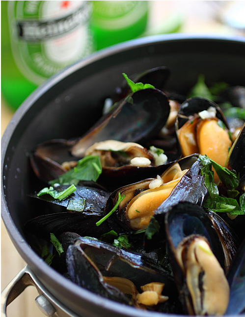 Beer Steamed Mussels | Taylor Shellfish Farms, Seattle WA